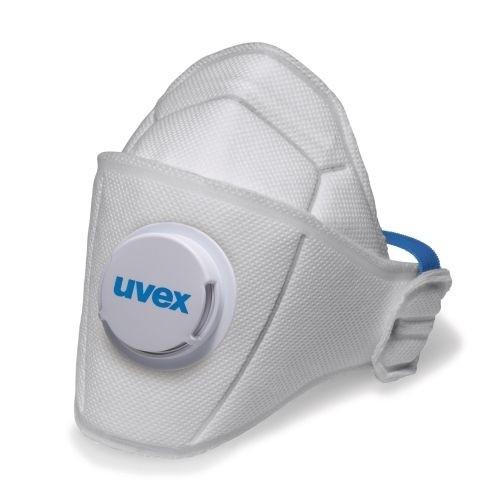 uvex Atemschutzmaske silv-Air premium 5110 FFP1 NR D, Faltmaske mit Ventil