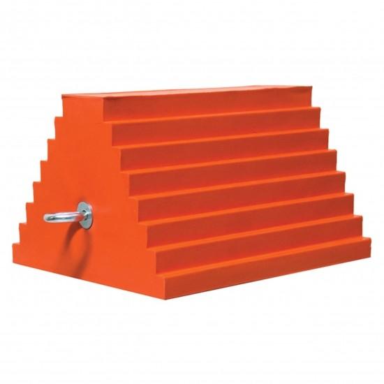 Checkers Urethane Chocks Unterlegkeil UCTS003, orange, 25 x 20 x 15 cm