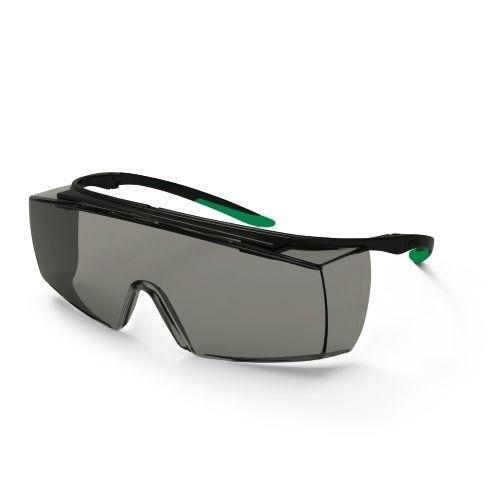 uvex Schweißer-Überbrille 9169541 super f OTG, PC grau, Schutzstufe 1,7, Bügel-Scharnier-Konzept