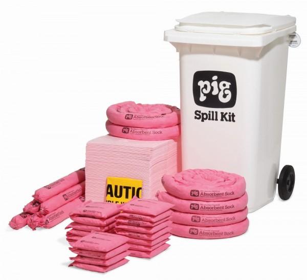 Fahrbarer Notfallkit Container - Medium Chemikalien KITE302