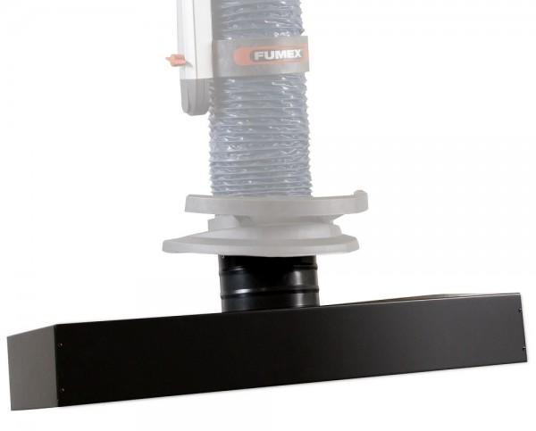 Fumex Langhaube PRH 800-160/2 mit Drehgelenk, inkl. Gasdruckfeder 800N