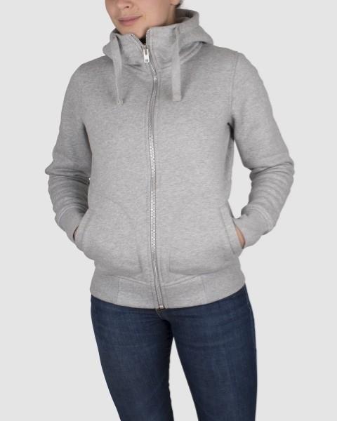 Dunderdon Berufsbekleidung Womens Line Damen-Hoodie S21 mit Reißverschluss