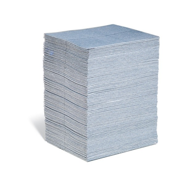 BLUE Saugmatten Light, blau, 38 x 48 cm, 100 Matten im Ausgabekarton