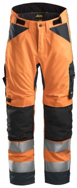Snickers Workwear 6639 AllroundWork, High-Vis 37.5 isolierende Arbeitshose+, EN 20471 Klasse 2