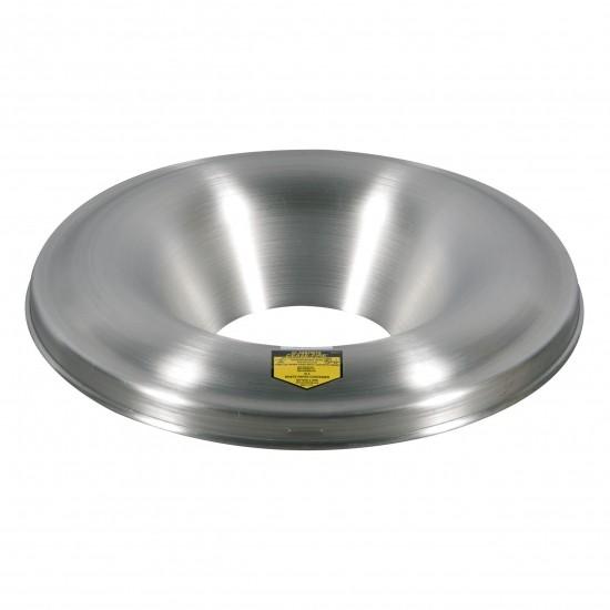 Justrite Aluminiumkopf für Cease-Fire® Abfallbehälter 45 L