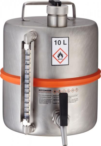 Rötzmeier Sicherheits-Standgefäß Typ 10ZI, 10L