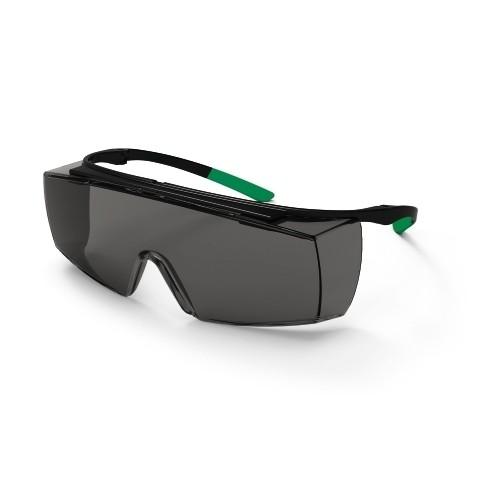 uvex Schweißer-Überbrille 9169543 super f OTG, PC grau, Schutzstufe 3, Bügel-Scharnier-Konzept