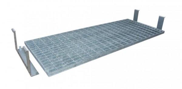 Bauer Gitterrost-Zwischenboden Typ ZB verzinkt für GD-N 2