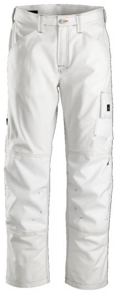 Snickers Workwear 3375 Malerhose weiß ohne Holstertaschen