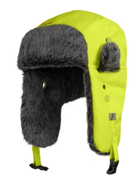 Snickers Workwear 9029 RuffWork High-Vis Trapper Mütze mit Ohrenklappen