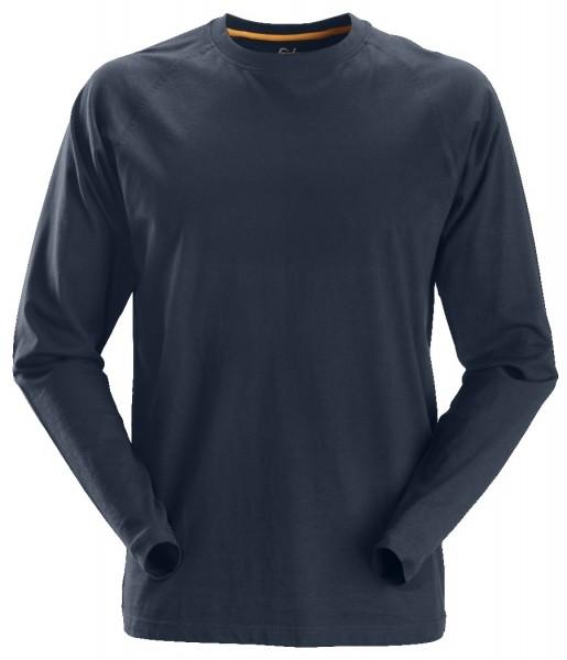 Snickers Workwear 2410 AllroundWork Langarm T-Shirt aus Baumwolle