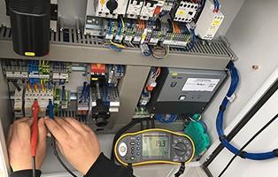 Prüfung & Wartung Brandschutzcontainer