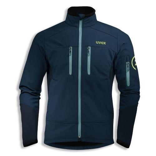 uvex Berufsbekleidung K26 Softshell-Jacke 7428, petrol