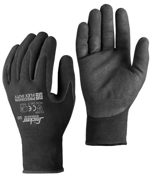 Snickers Workwear 9305 Precision Flex Duty Handschuhe, schwarz