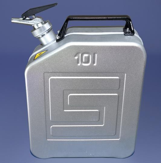 Original Salzkotten Sicherheits-Kanister Typ 321, 10 Liter mit Feindosierer
