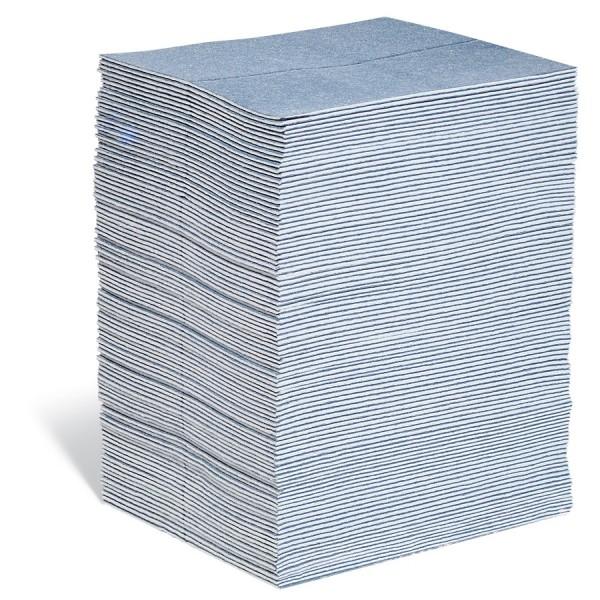 BLUE Saugmatten Heavy, blau, 38 x 48 cm, 100 Matten im Ausgabekarton