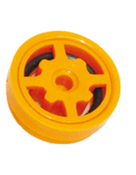 B-Safety Automatischer Mengenregulator 97B35 orange, für Körper-Notduschen