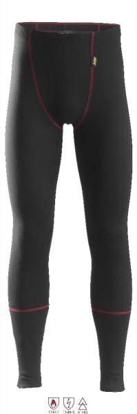 Snickers Workwear 9460 ProtecWork lange Unterhose, schwarz, antistatisch