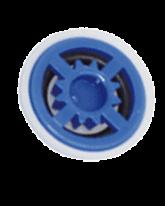 B-Safety Automatischer Mengenregulator blau 97B16 für Augenduschen