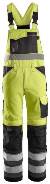 Snickers Workwear 0113 High-Vis Warnschutz Arbeitslatzhose, EN 20471 Klasse 2