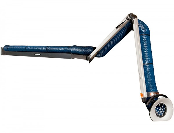 Fumex Absaugarm Typ PR 3000, Standard, Wandkonsole, Schweißarbeiten in der Industrie