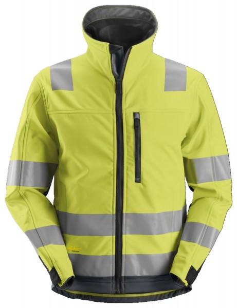 Snickers Workwear 1230 AllroundWork High-Vis Softshell Arbeitsjacke, EN 20471 Klasse 3
