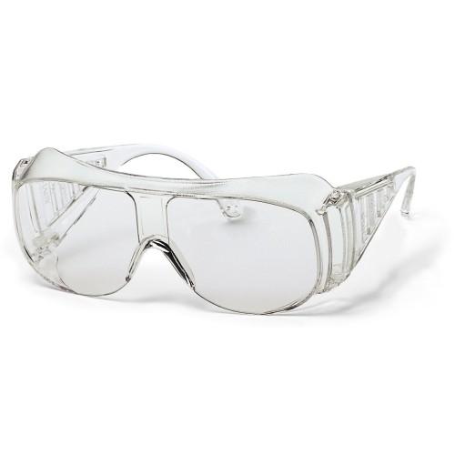 uvex Überbrille 9161014 farblos, PC farblos, ohne Beschichtung, Panoramascheibe