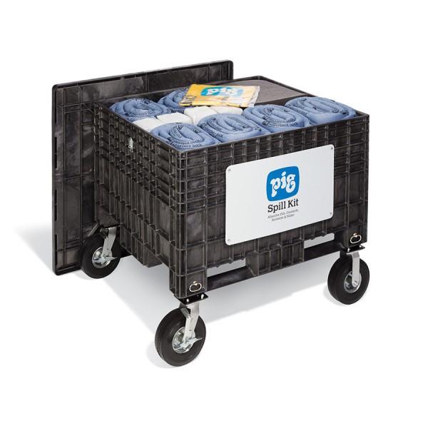 Extragroße Notfall-Transportkarre mit No-Flat-Reifen, Universal, KIT204-01