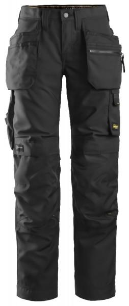 Snickers Workwear 6701 AllroundWork, Damen Stretch Arbeitshose mit Holsertaschen