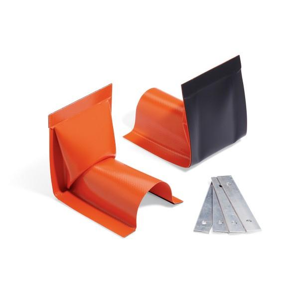 Überfahrbare Build-A-Berm-Barriere Typ Wandende, PLR109