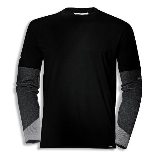 uvex Schutzbekleidung cut quatroflex T-Shirt 7930 schwarz mit Schnittschutzärmeln