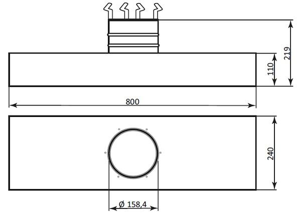 fumex-langhaube-prh-800-160-skizze