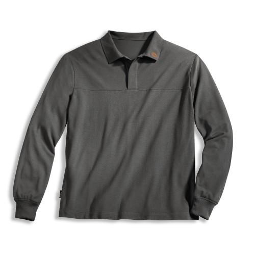 uvex Schutzbekleidung protection fire+arc Flammschutz-Poloshirt grau Modell 8907