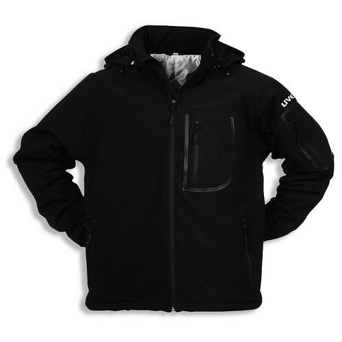 uvex Berufsbekleidung Softshell-Outdoorjacke schwarz Modell 9816