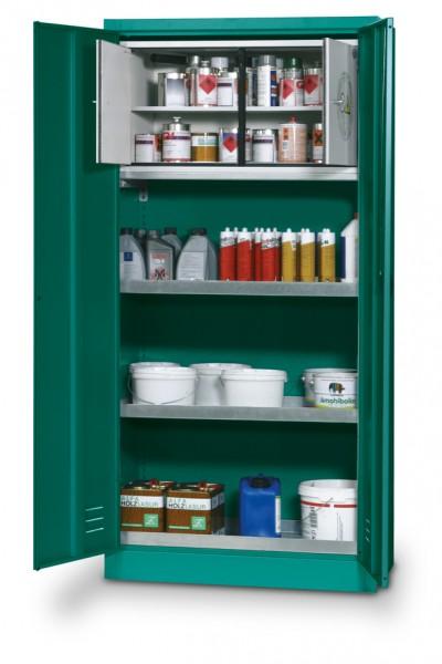 Pflanzenschutzmittelschrank E-PSM-UF Modell EP.195.095.F mit Typ 30 Sicherheitsbox