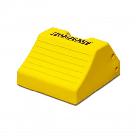Checkers Monster Chocks Unterlegkeil MC3010, gelb, 45 x 38 x 25 cm