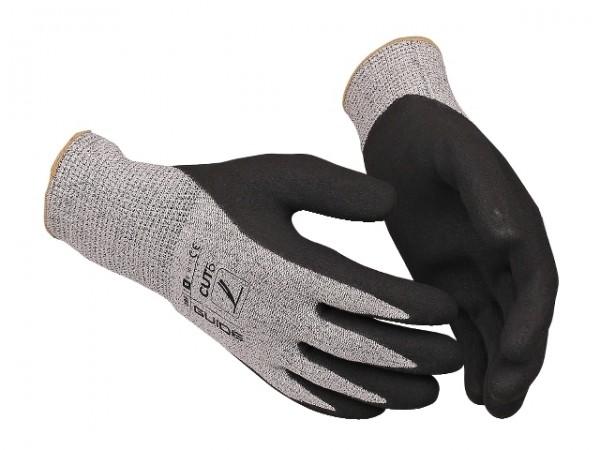 Schnittschutz-Handschuhe 384 Guide mit Nitril-Beschichtung und Strickbund, nahtlos