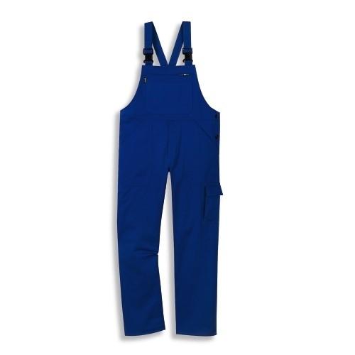 uvex Berufsbekleidung plus Herren-Latzhose kornblau Modell 8833