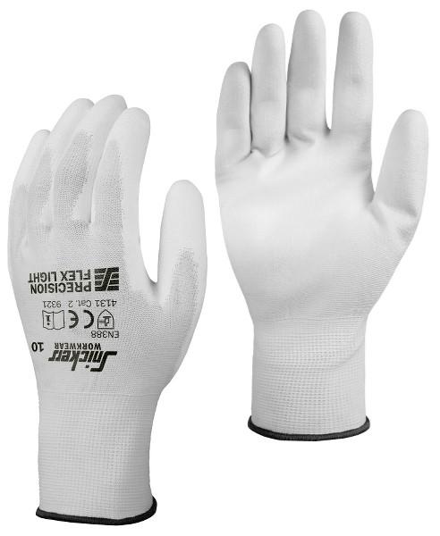 Snickers Workwear 9321 Precision FLEX Light Handschuhe, weiß