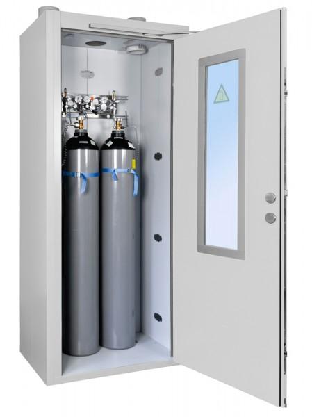 Priorit Prioroom Gas GFR92:1400-G, Gasflaschenräume F90, 2-flügelig, mit Türverglasung
