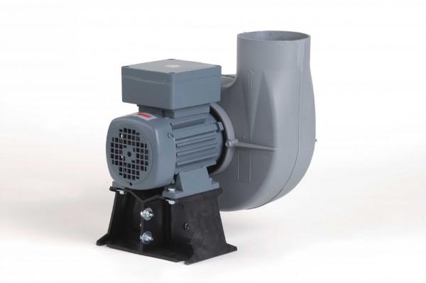Kleinradialventilator FRv 110+/4/C/EX, EEx e II T3, 20-375 m³/h, 4-polig, mit Konsole