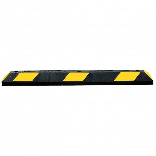 Checkers Park-It® Parkrahmen, Gummi, 90 x 15 x 10,16 cm, für Parkplätze