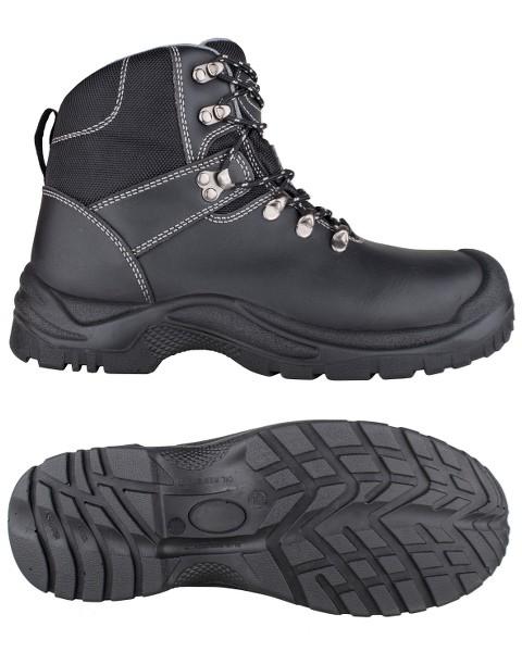 Toe Guard TG80265 Flash Sicherheitsstiefel S3 SRC aus Leder, schwarz