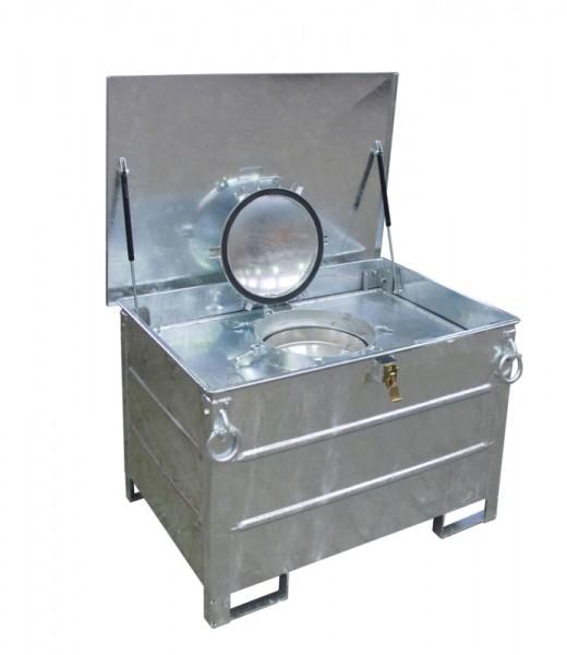 Bauer Sammelbehälter Typ ASB 450-1, Internationale Beförderung gefährlicher flüssiger Güter
