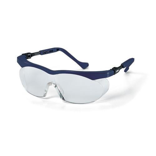 uvex Schutzbrille 9196065 skyper s blau, PC farblos, kratzfest, chemikalienbeständig