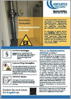 Flyer Explosionsschutzdokument