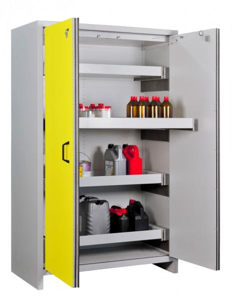 Priorit Sicherheitsschrank Priocab Typ90, EN92:196-120-6A, 2-flügelig, 6 Vollauszüge