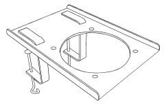Fumex flexible Tischkonsole MBF für Fumex Absaugarme