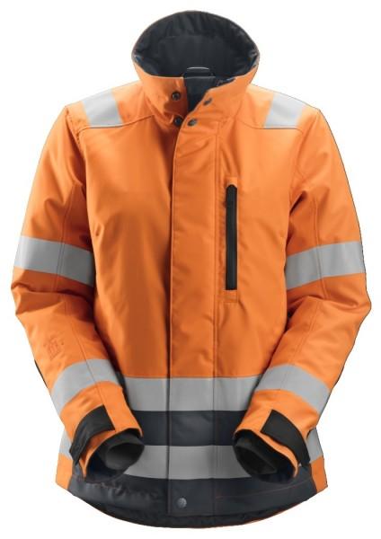 Snickers Workwear 1137 AllroundWork Damen High-Vis 37.5 isolierte Arbeitsjacke, Klasse 2/3