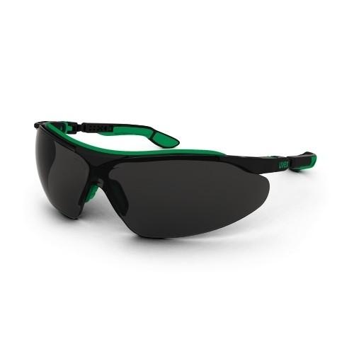 uvex Schweißerschutzbrille 9160045 i-vo, schwarz-grün, Schutzstufe 5, Beschlagfrei, Kratzfest